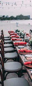 Restaurantes y eventos - Mantelería